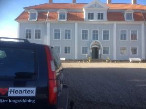 Tofta Herrgård erbjuder HLR-utbildning som aktivitet på er konferens