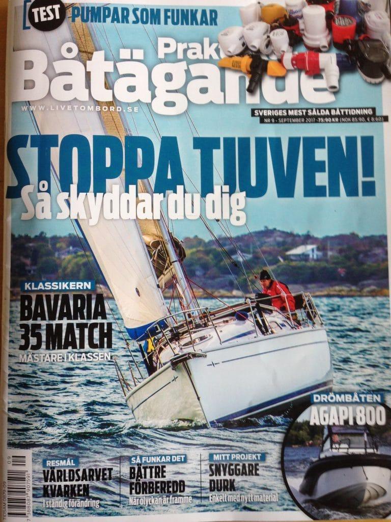 Praktiskt Båtägande reportage om Första Hjälpen