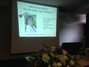 Föreläsning i Biograd, Kroatien med Qoola Qvinnor