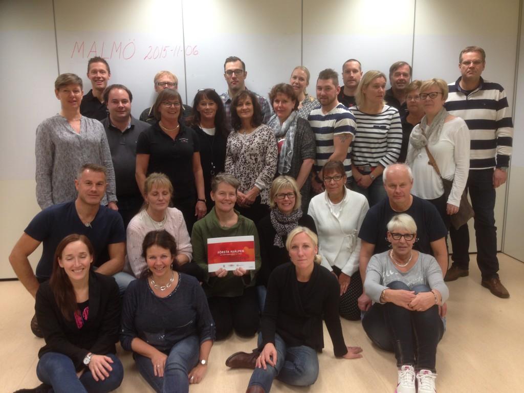 Instruktörskurs i Första hjälpen i Malmö