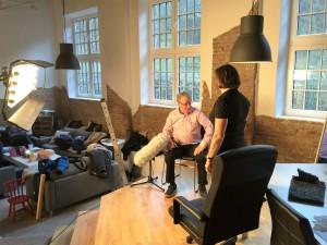 Intervju med Tomas Olsson som drabbats av strömgenomgång