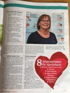 Riskfaktorer för hjärtinfarkt