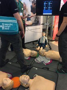 SMS-livräddar-träff i Göteborg 9 maj