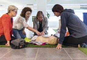 Zoll AED på SMSlivräddar-träff